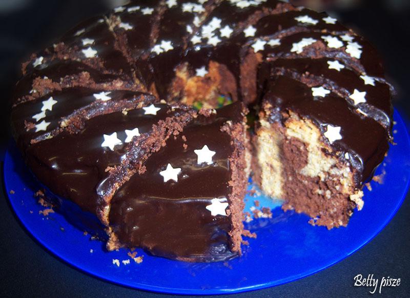 Keks biszkoptowo - kakaowy