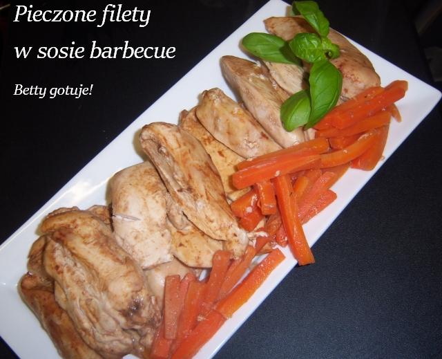 Pieczone filety w sosie barbecue3