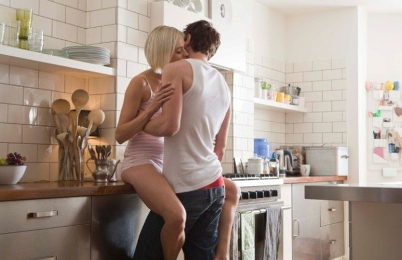 seks w kuchni